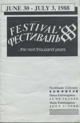 Festival '88 ...the next thousand years