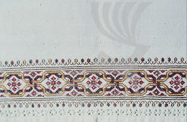 Example of embroidery.