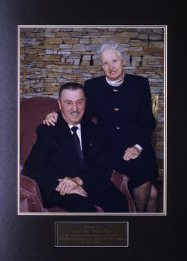 Photo of Peter and Doris Kule