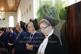 Ordination of f. Malinowsky. Sisters-Servants