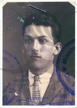 Nick Gaudun's old passport photo 1929