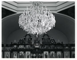 Chandelier, St. Barbara's Russo Orthodox Church