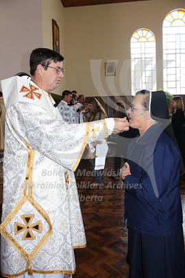 Ordination of f. Malinowsky. Communion Ceremony
