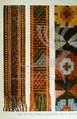 Woven belts (kraiky). Rivne and Poltava regions. Late XIXth - early XXth century.
