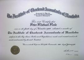 The Institute of Chartered Accountants of Manitoba