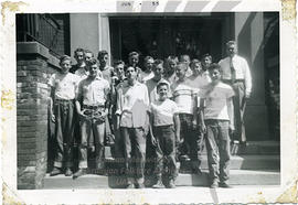 Group of boys, June 1955