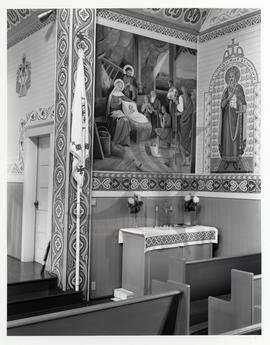 Mural, St. Mary's Ukrainian Catholic Church