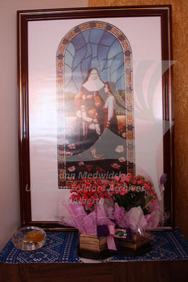 A picture in the Chapel in the House of the Sisters Servants, Craveiro