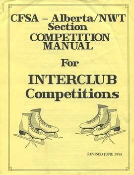 CFSA - Alberta/NWT Section Competition Manual for Interclub Competitions